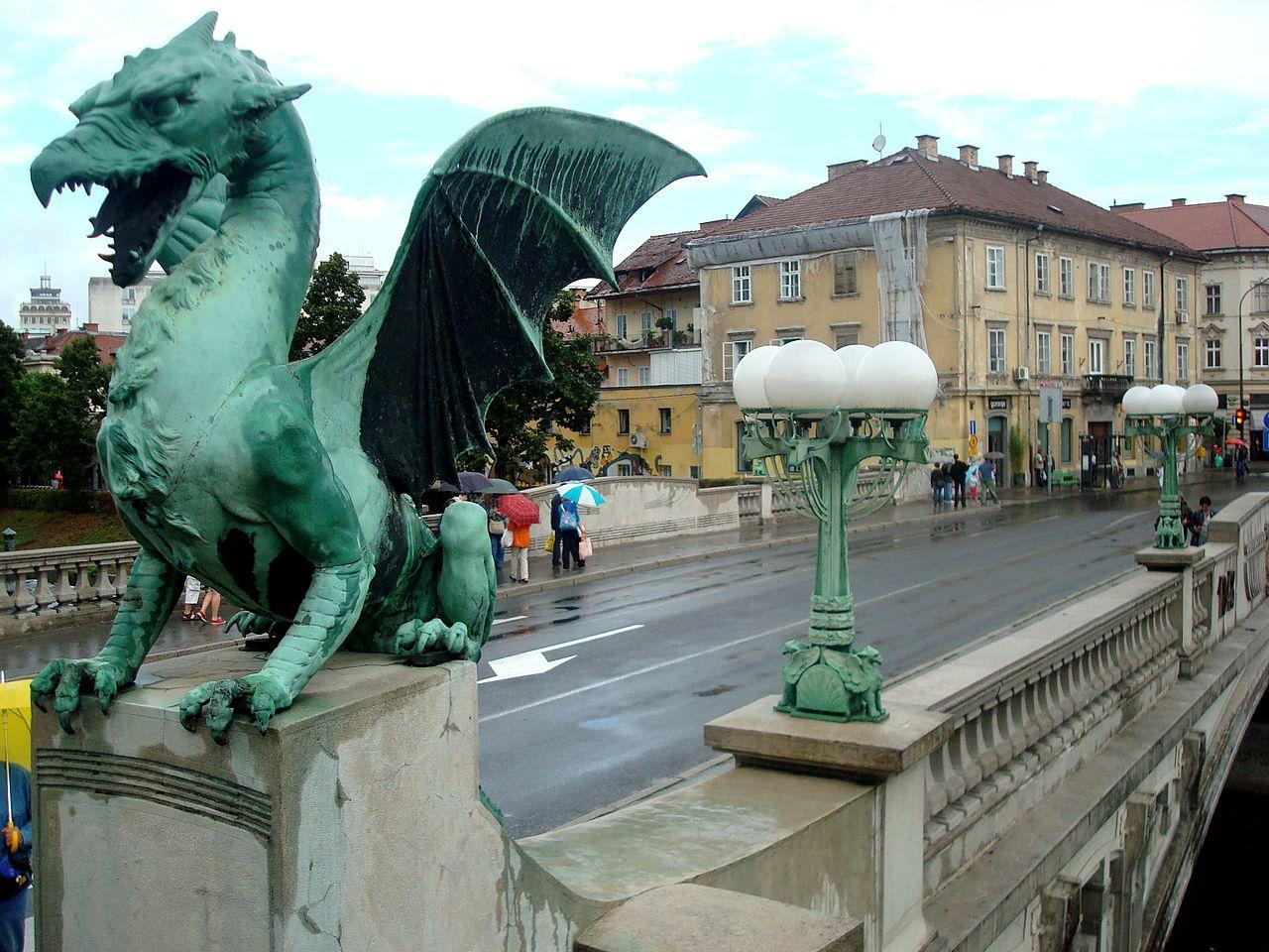 El Puente de los Dragones de Liubliana