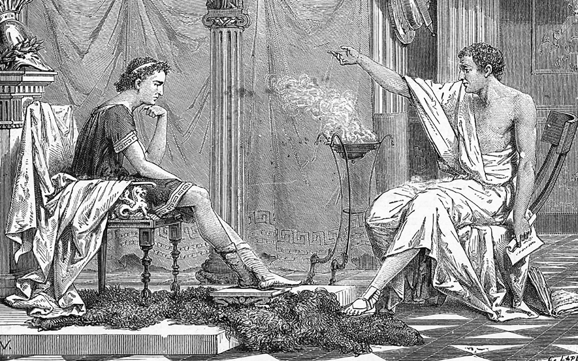 Educación de Alejandro Magno