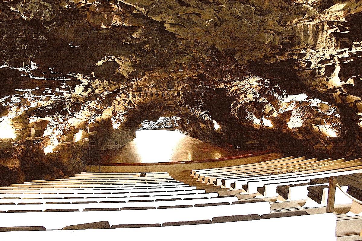 auditorio cueva lanzarote