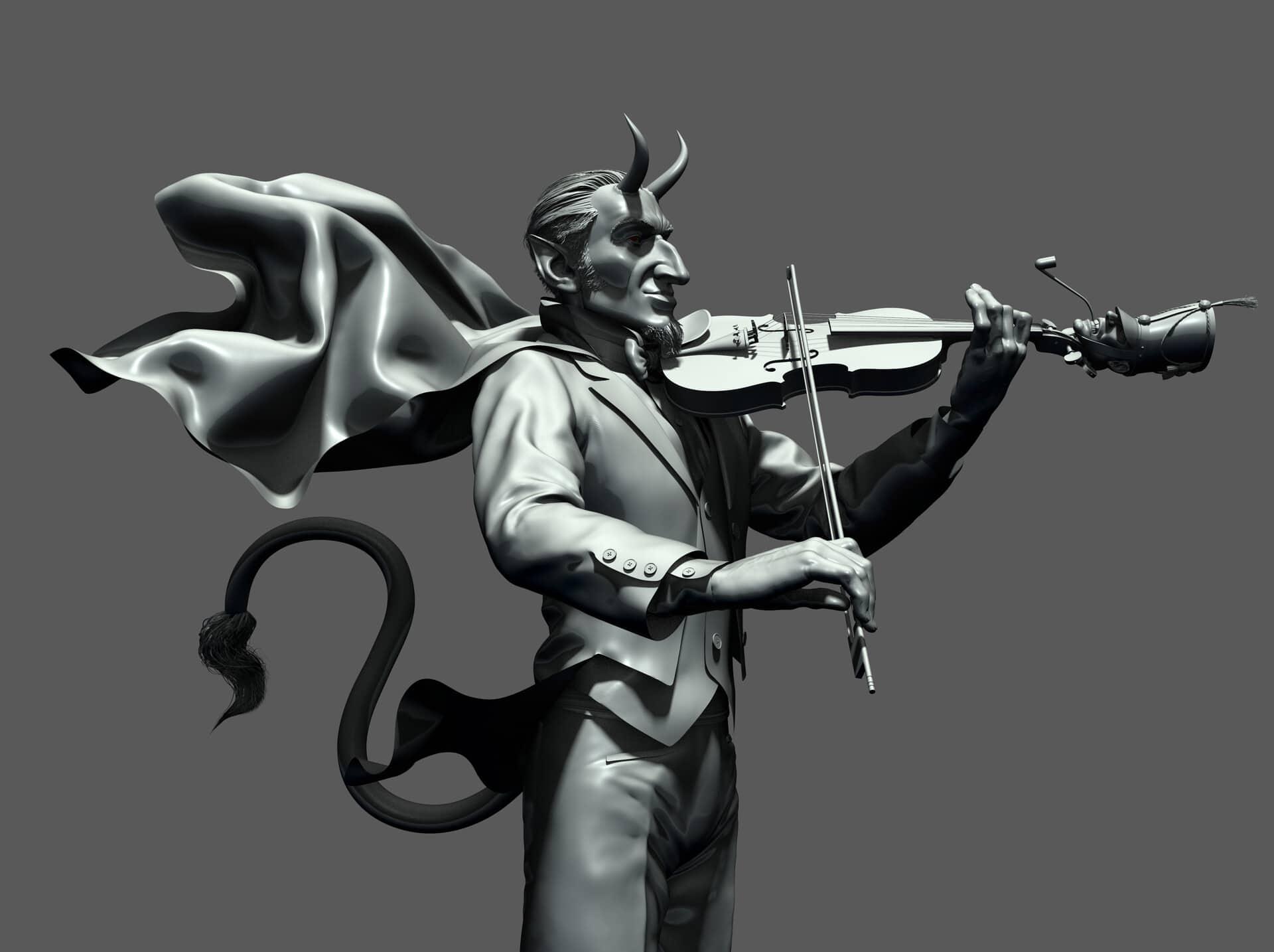 diablo violinista