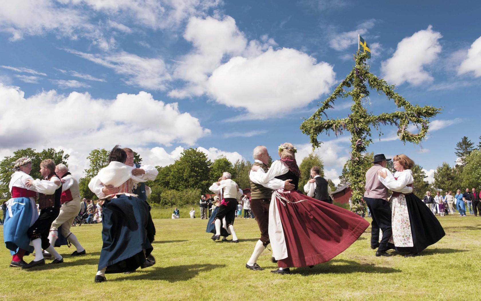 baile tradicional Suecia
