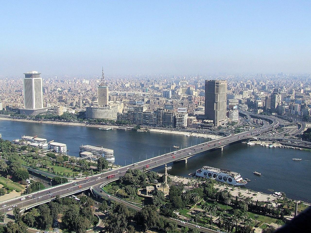 Vista de El Cairo