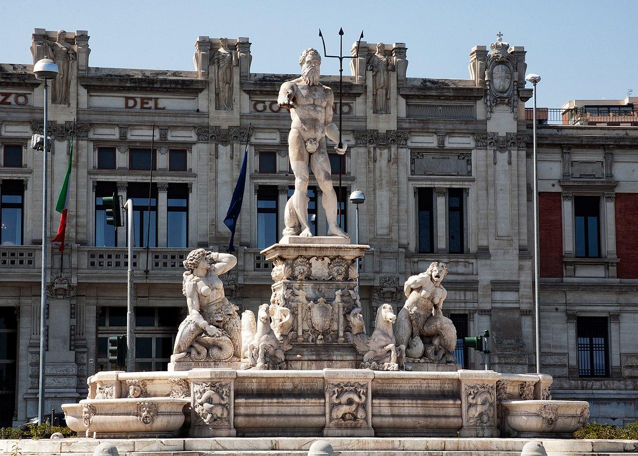 Estatua de Poseidón o Neptuno