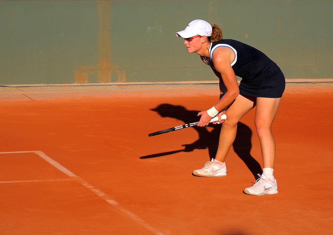 Samantha Stosur en un torneo