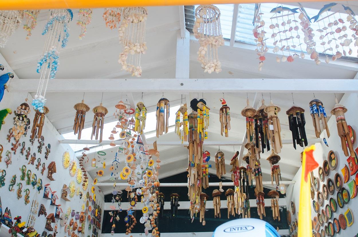 Objetos de artesanía dominicana