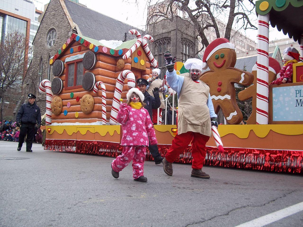 Desfile de Papá Noel