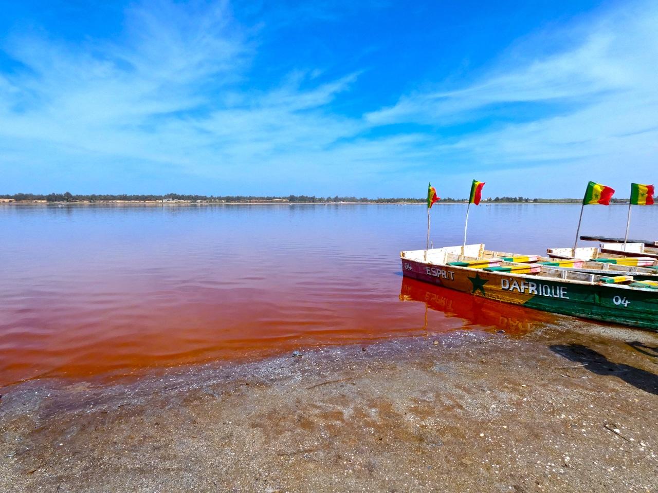 El Lago Rosa