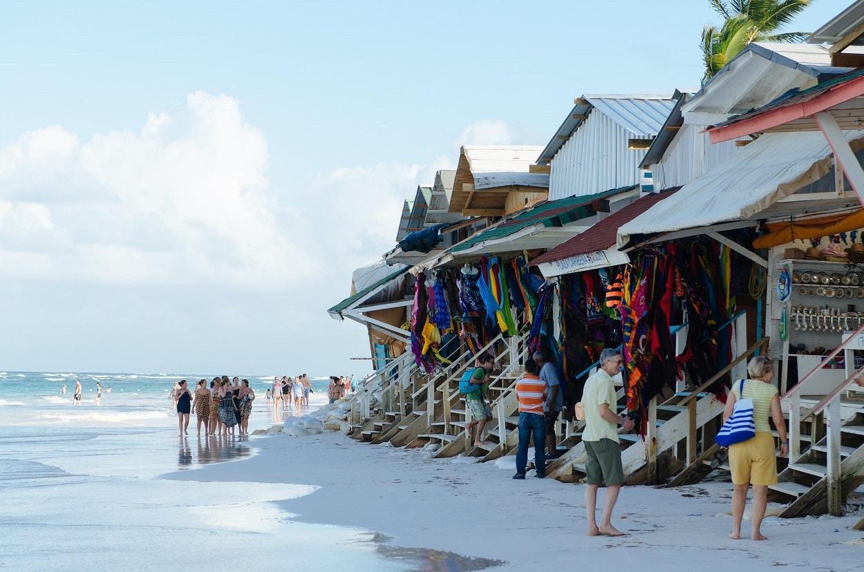 El mercadillo de Playa Bávaro