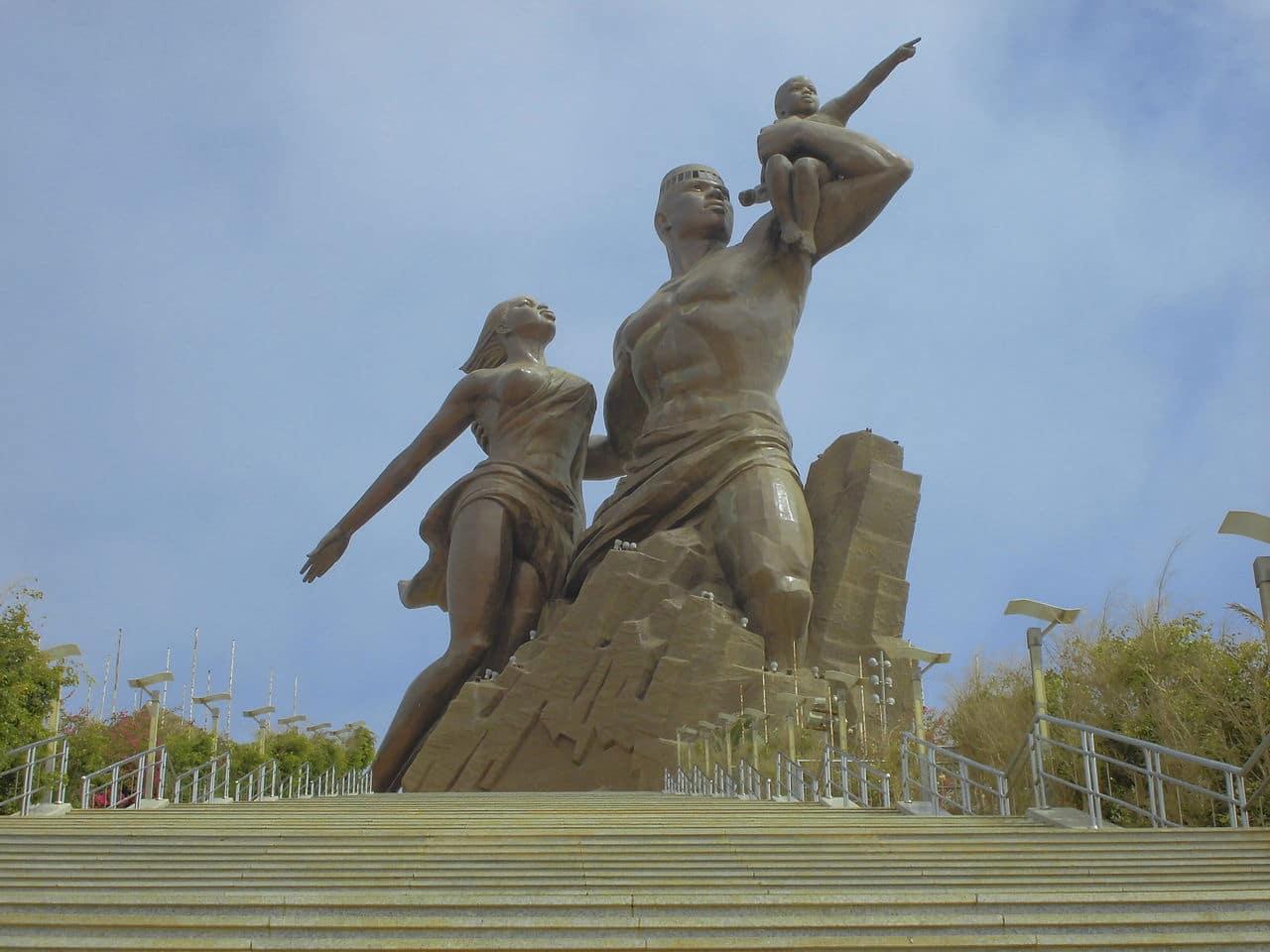 El Monumento al Renacimiento Africano
