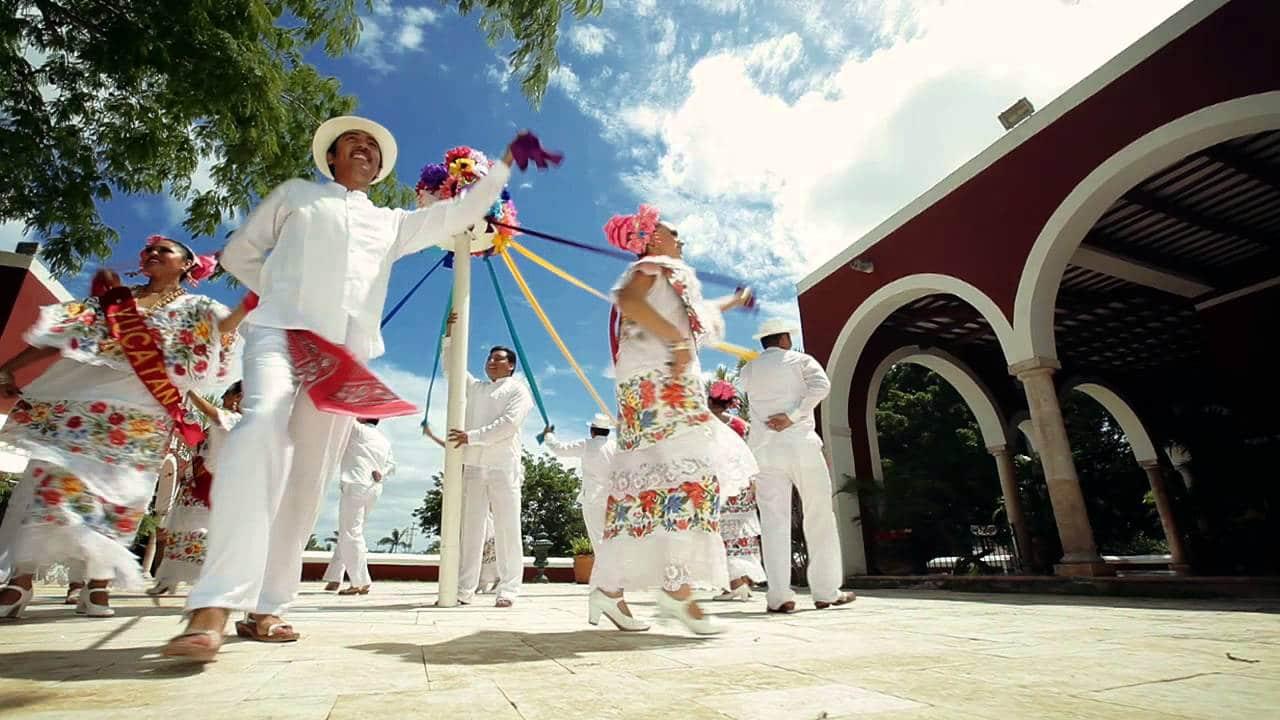 Baile de las Cintas, Yucatán