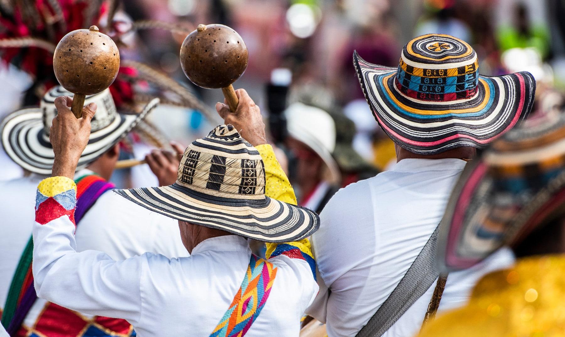 cumbia, música tradicional de Colombia