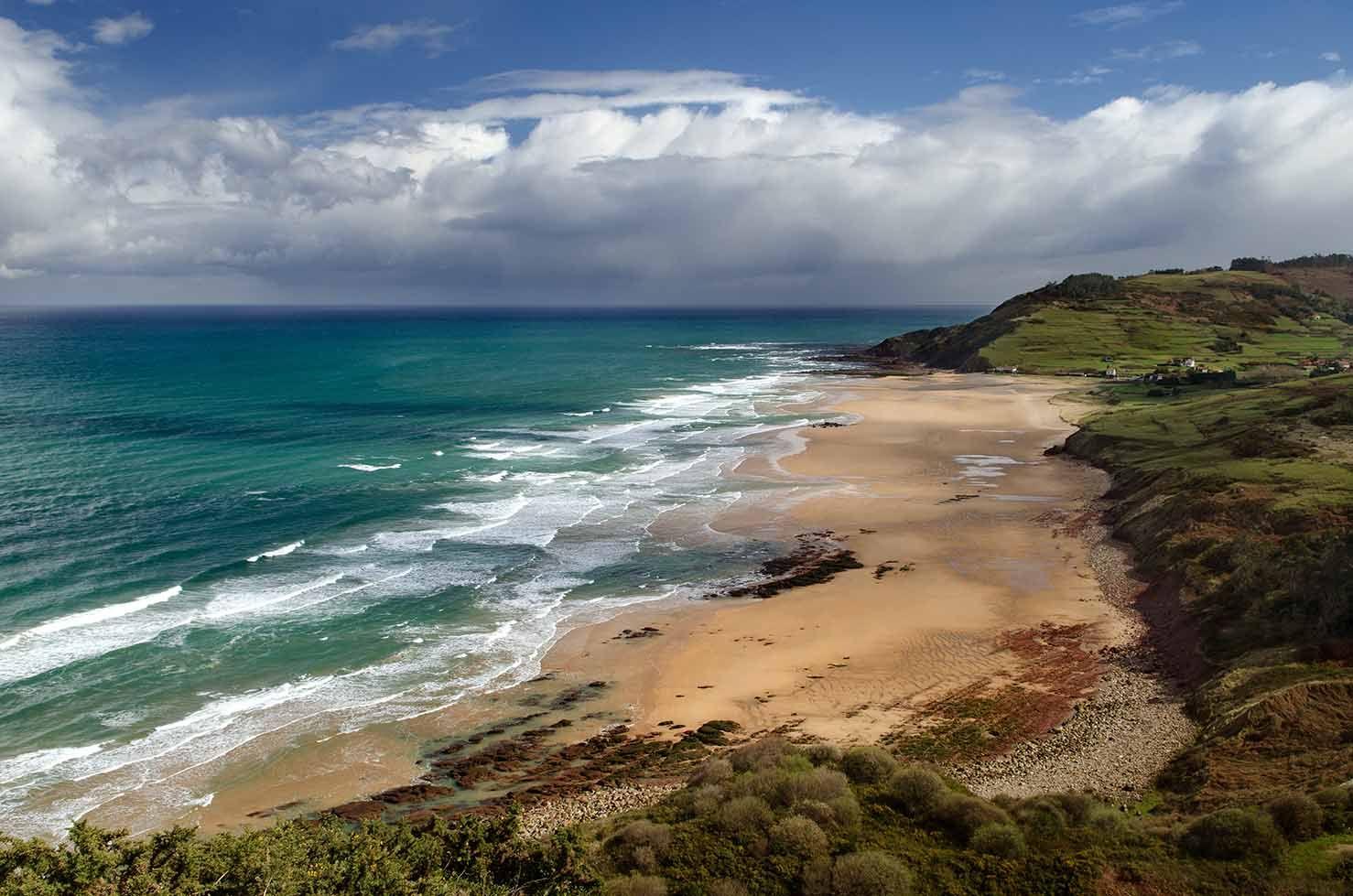 playa de vega asturias
