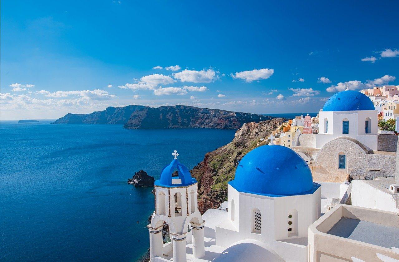 Santorini isla Grecia