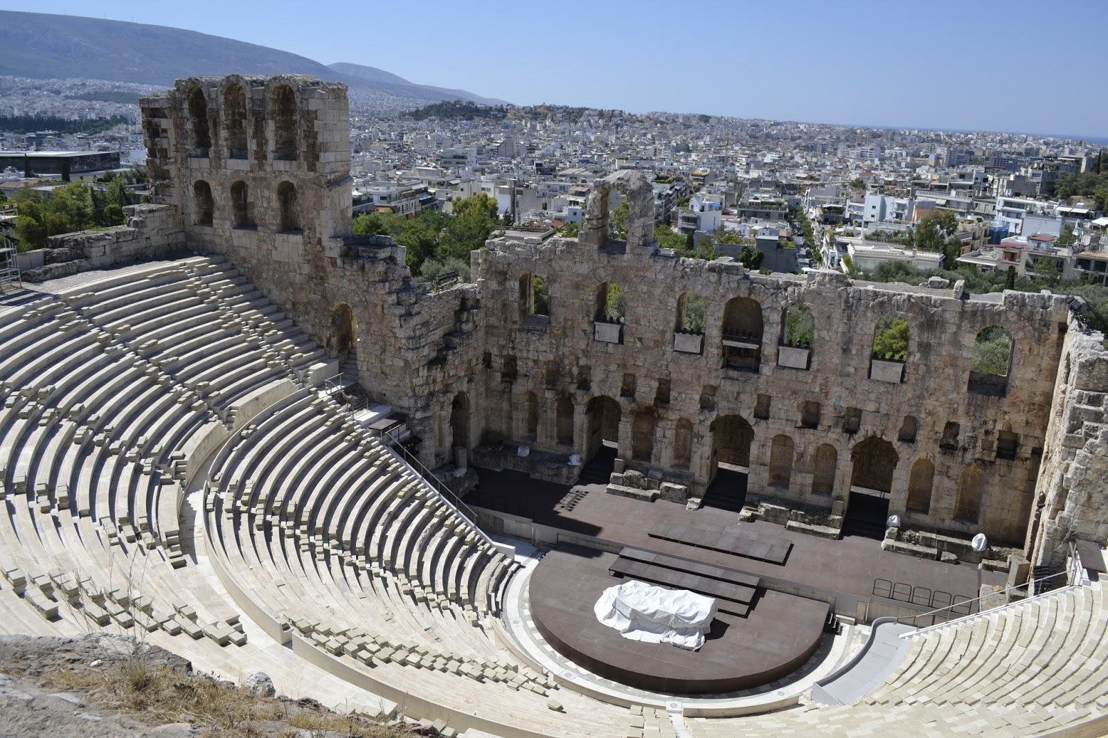 teatro griego en atenas