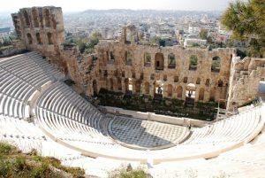 teatro griego acropolis