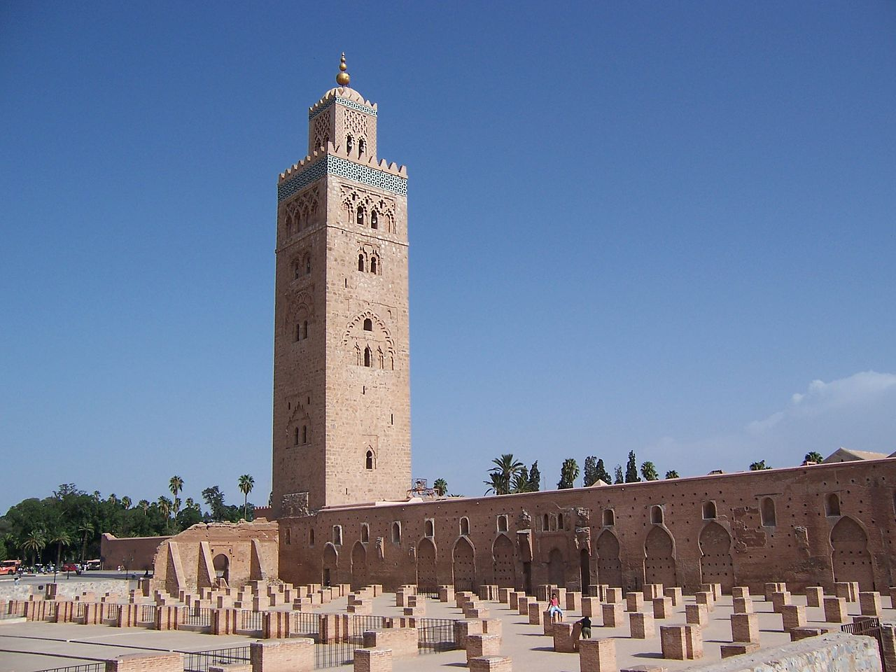 La mezquita Koutoubia