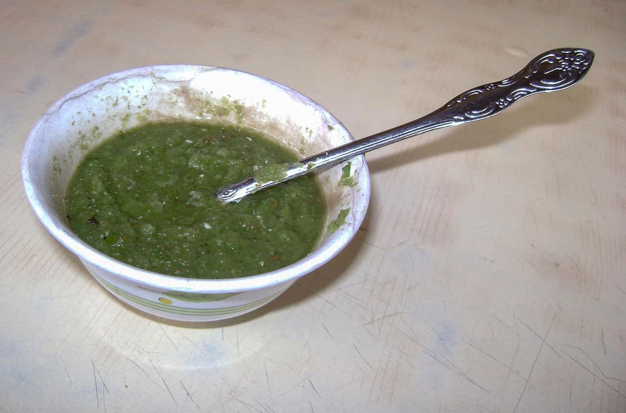 Un ají verde