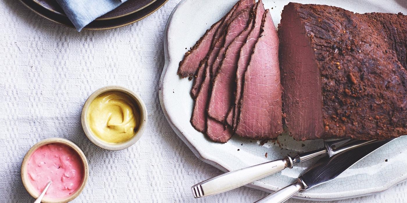 carne con especias, comida de irlanda en Navidad