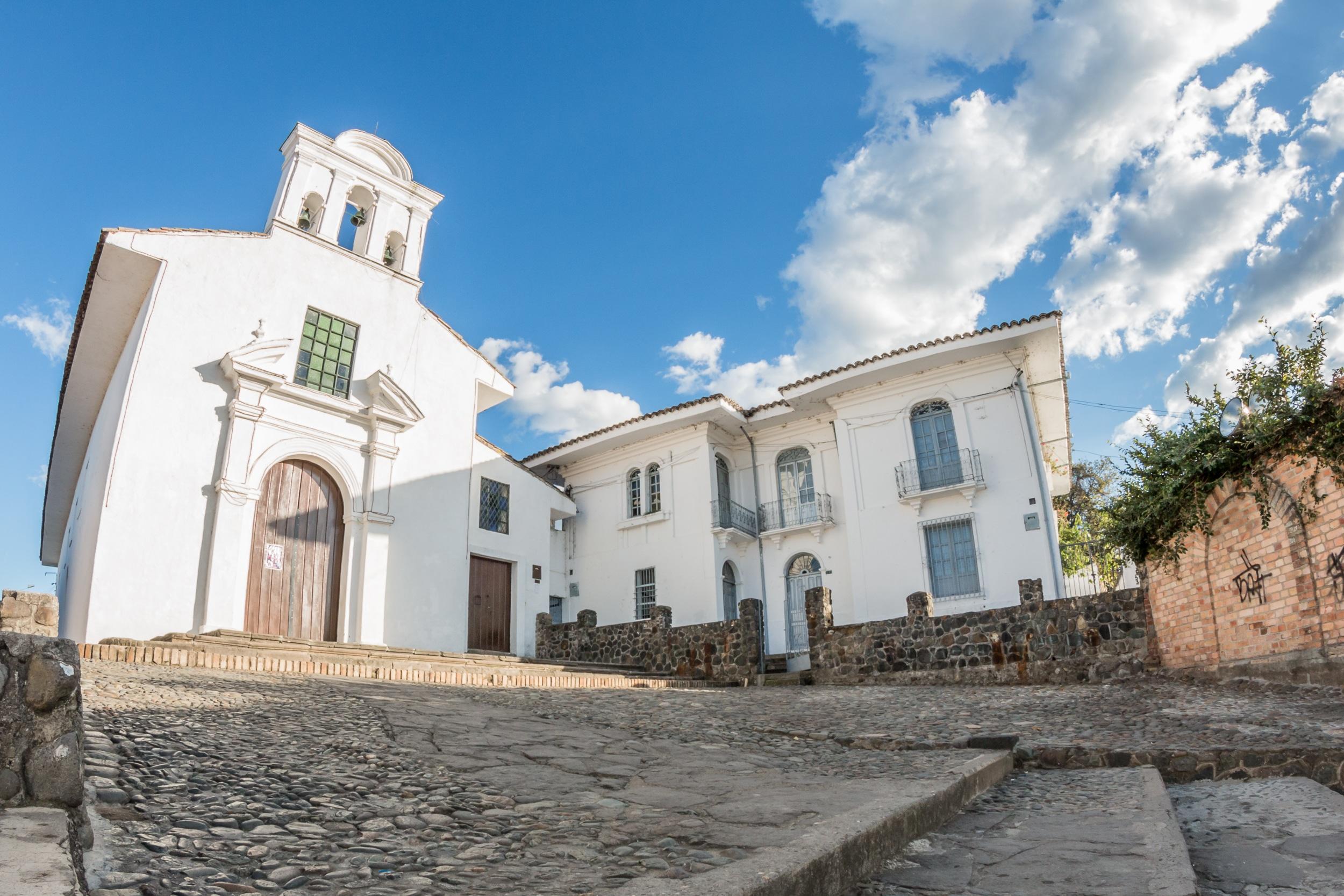 iglesia blanca popayan