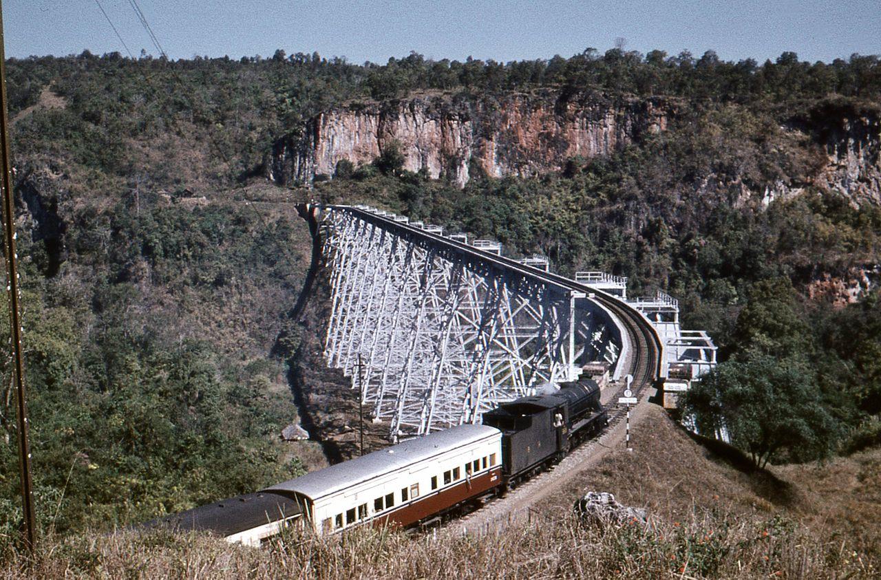 El viaducto de Gokteik