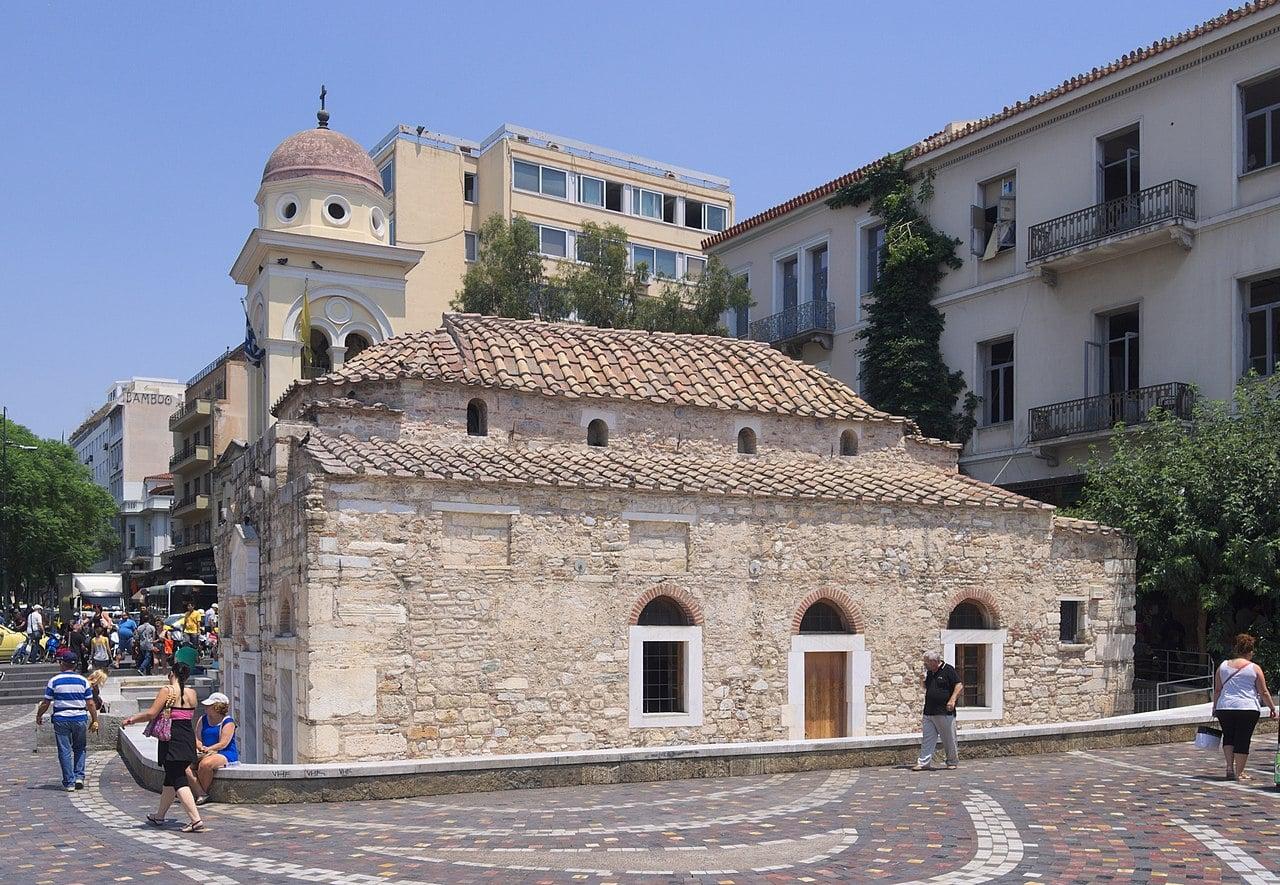 La iglesia de Pantanassa