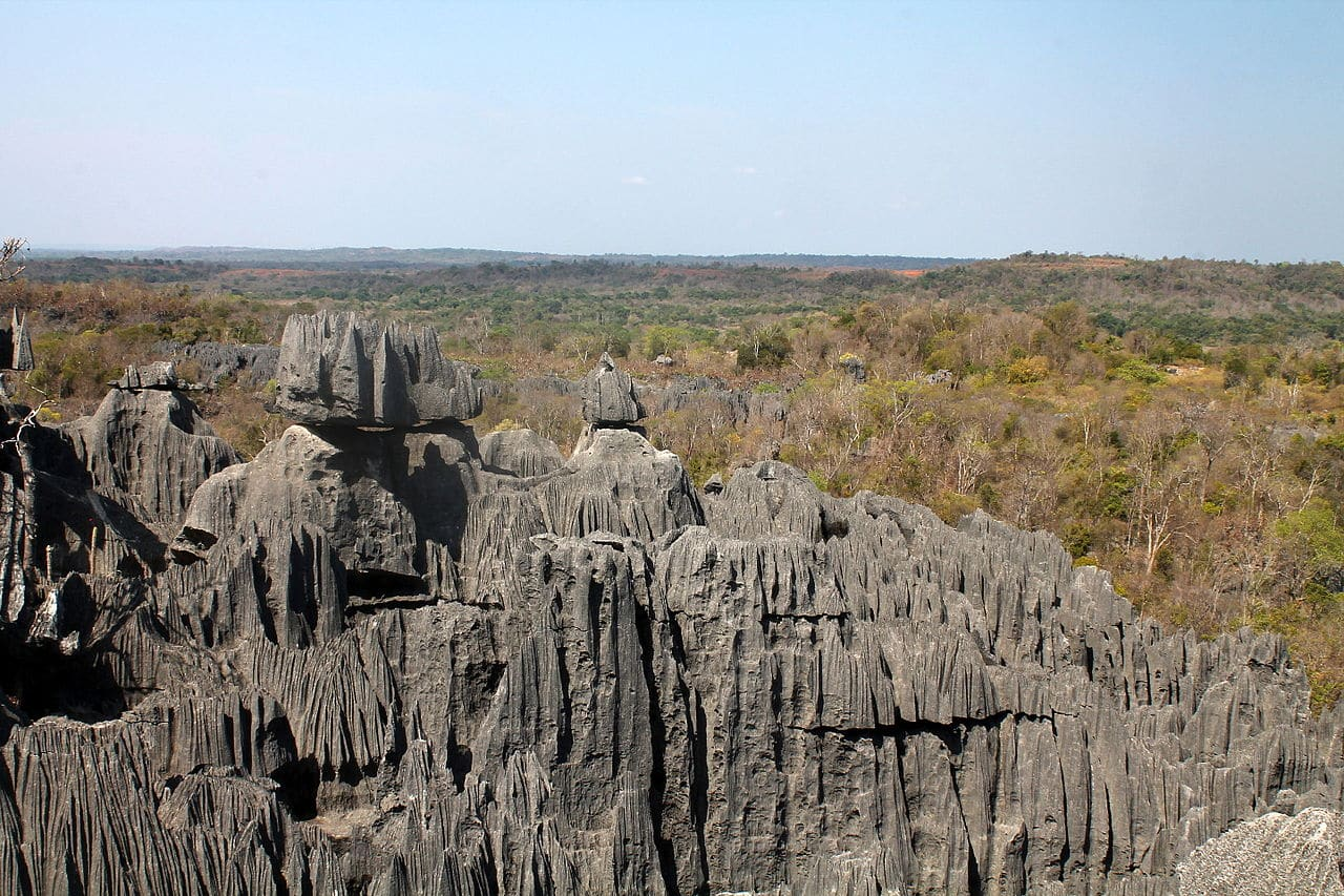 Parque de Tsingy de Bemahara