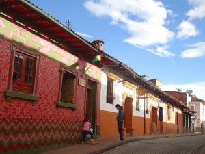 Barrio de La Candelaria Bogotá