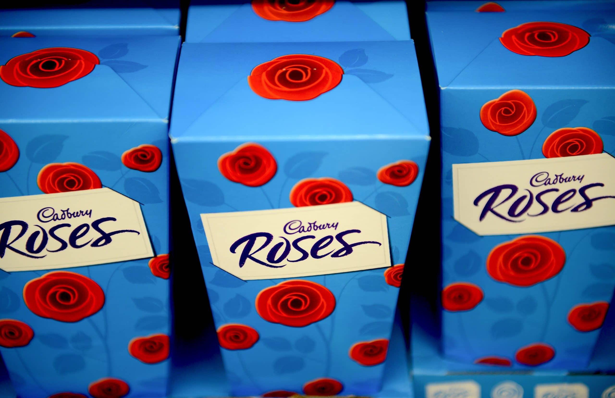 chocolates Cadbury's Roses