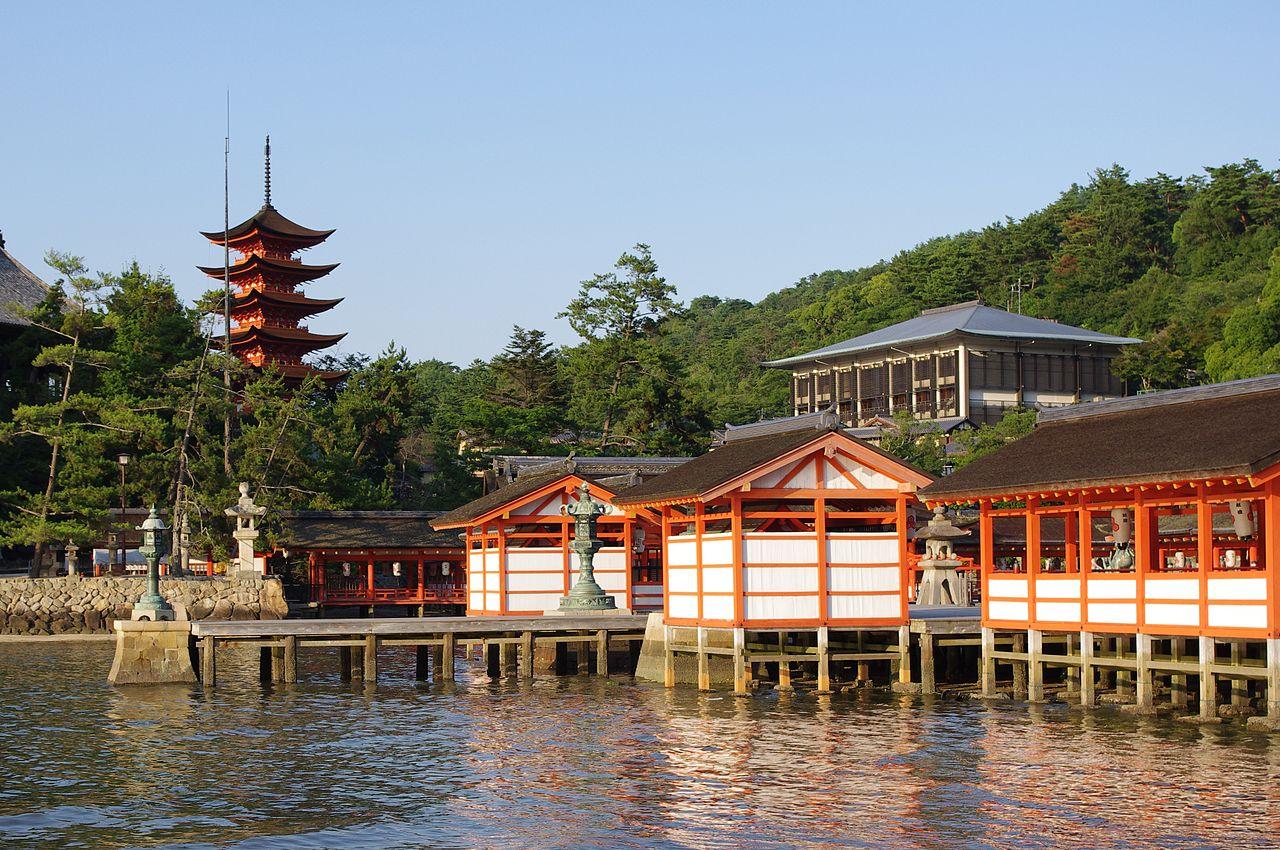 El santuario de Itsukushima