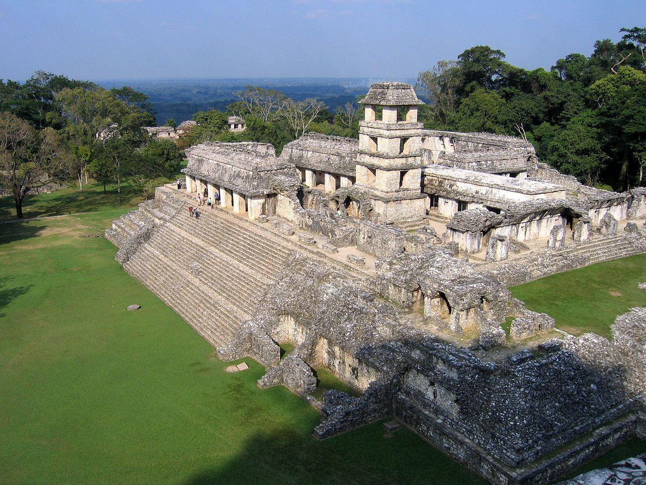 El observatorio de Palenque