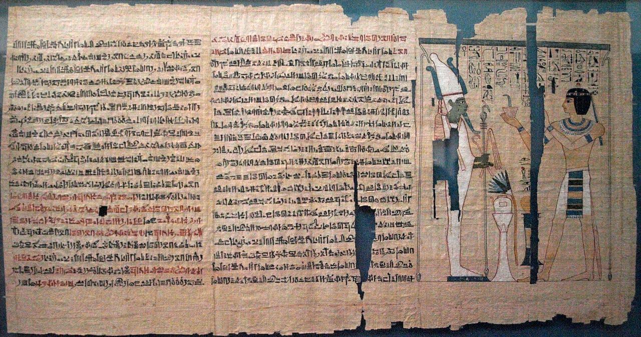 Un papiro egipcio