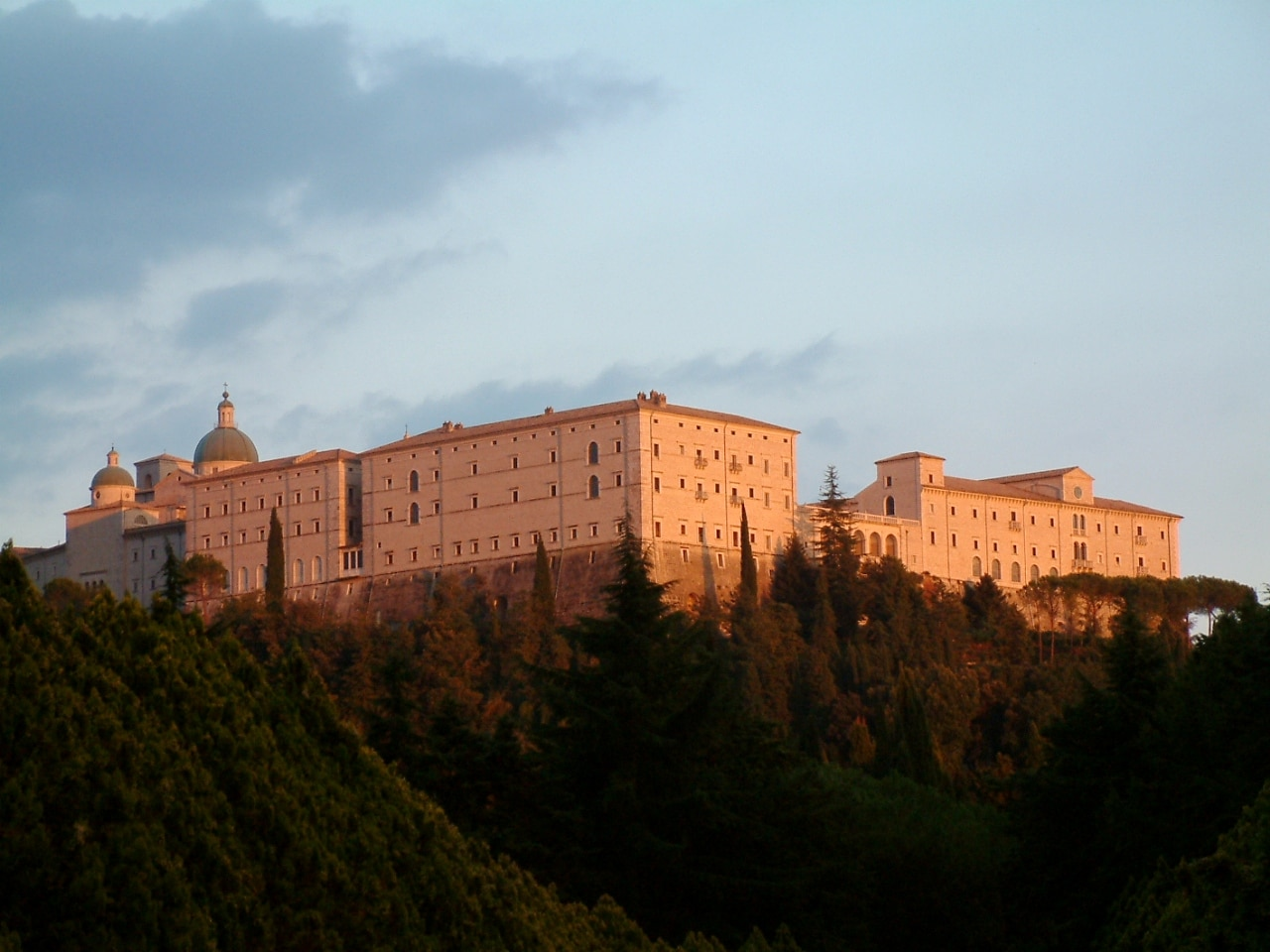 La abadía de Monte Casino