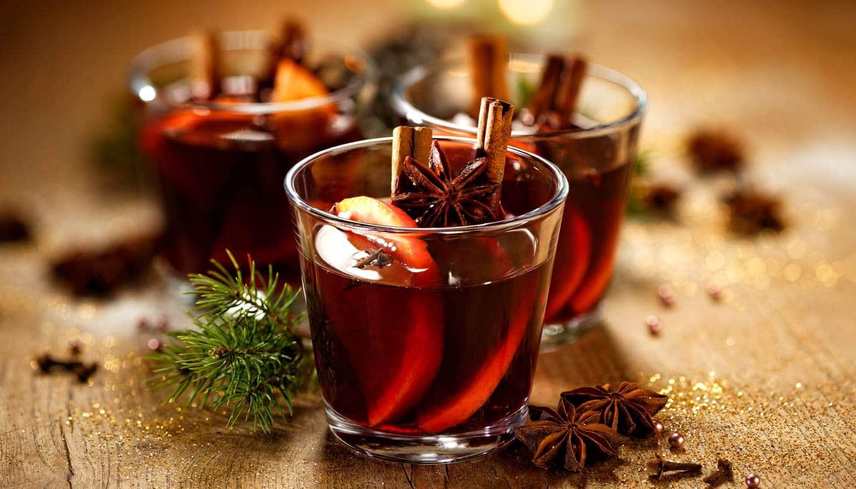 vino de especias navidad