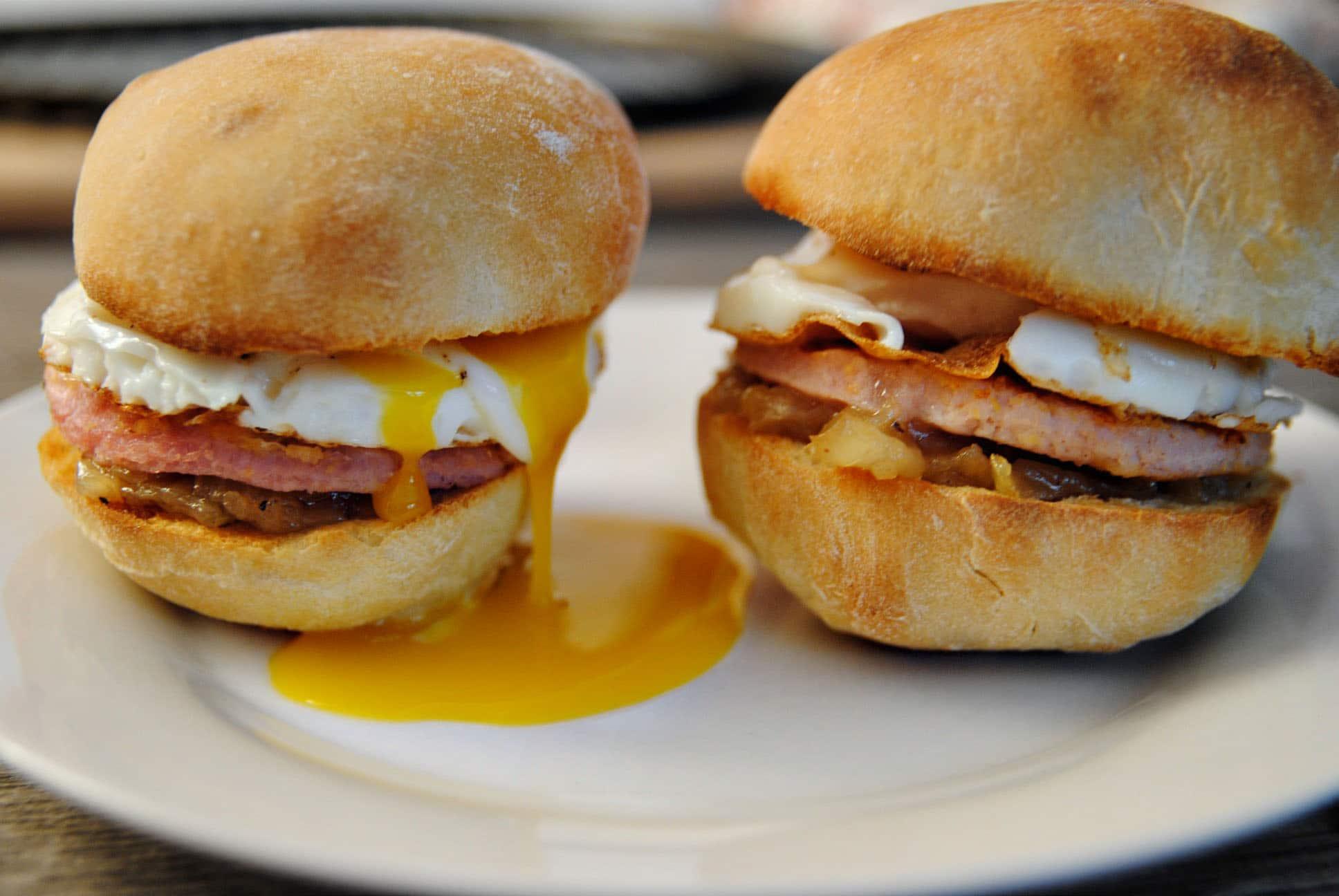 desayuno típico Ontario Canadá