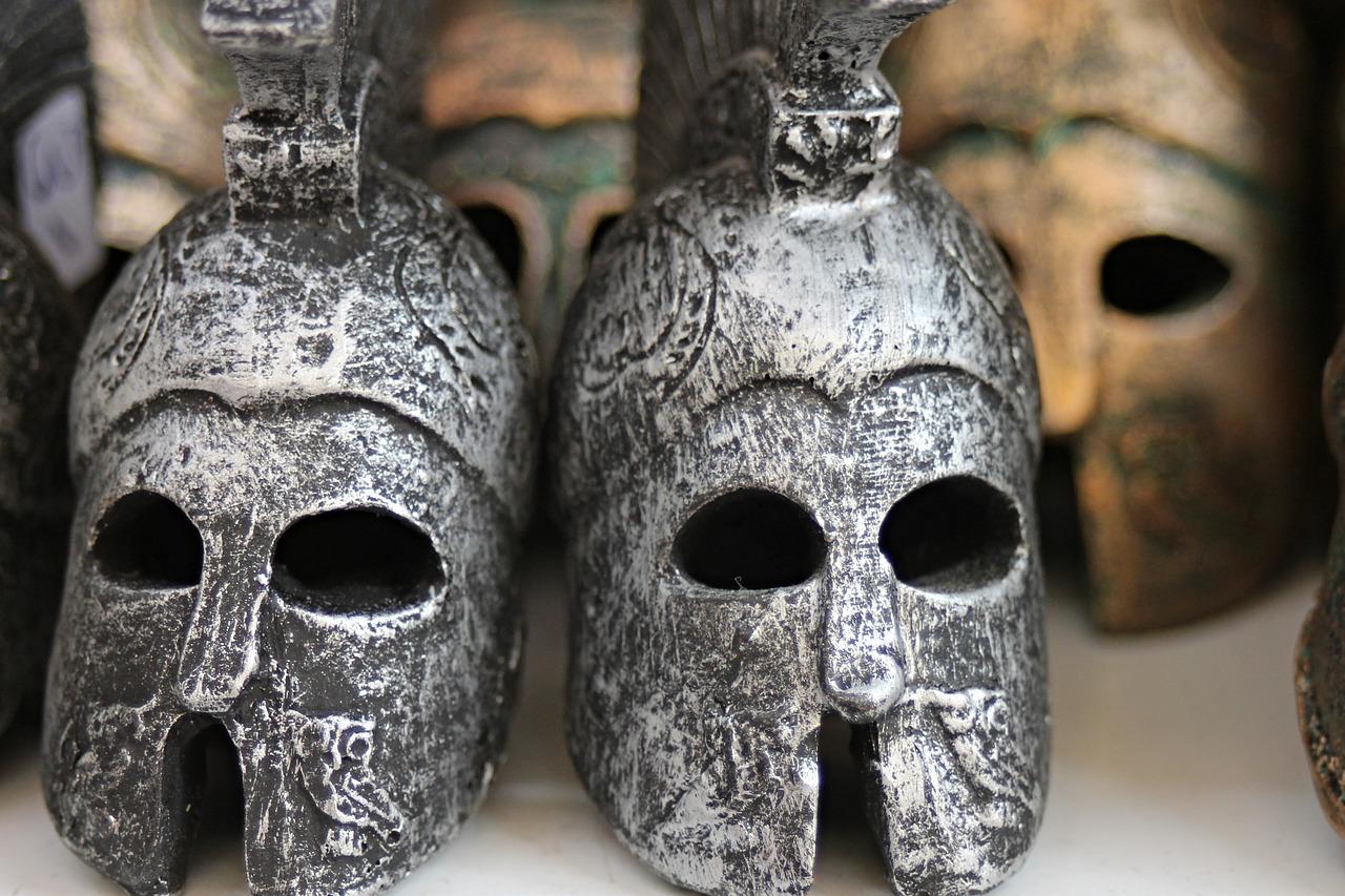 cascos antigua grecia