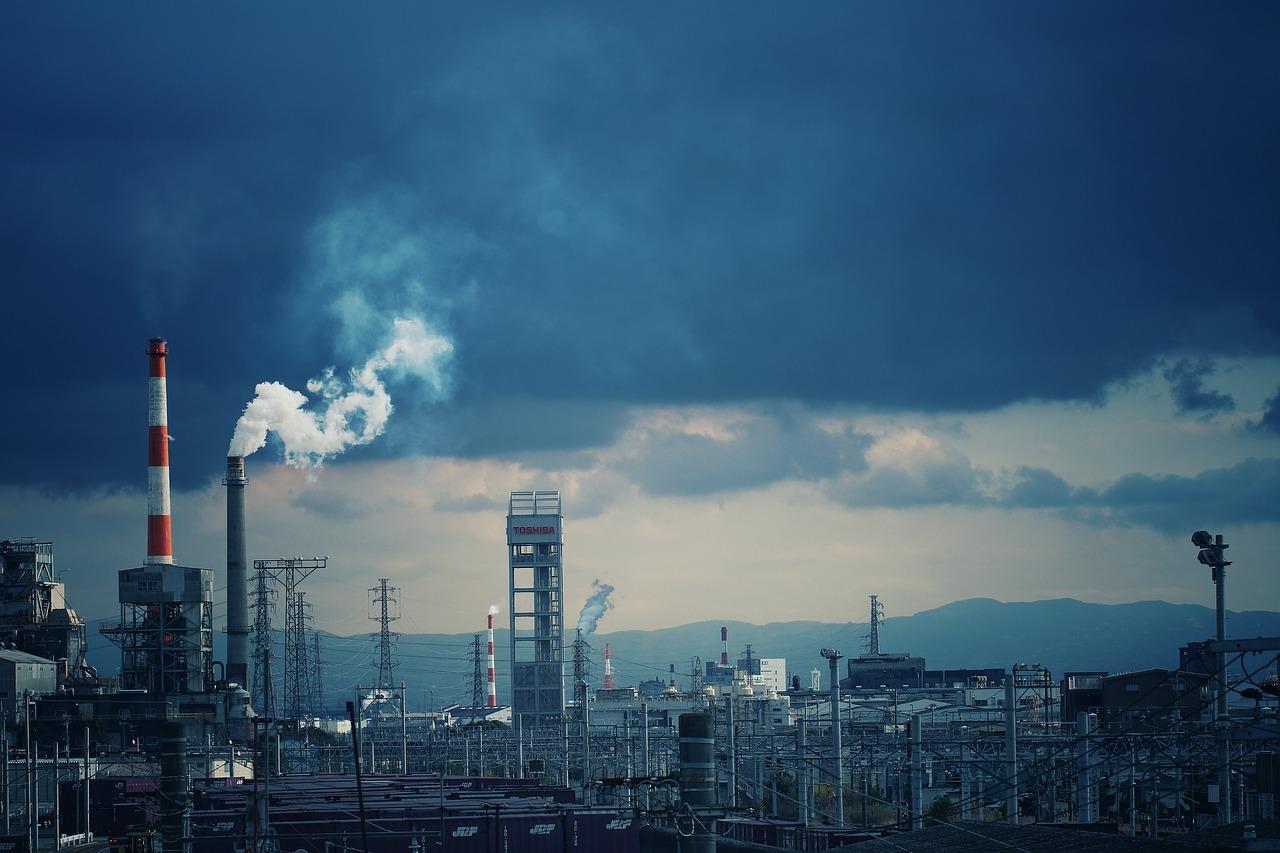 contaminación en Japón