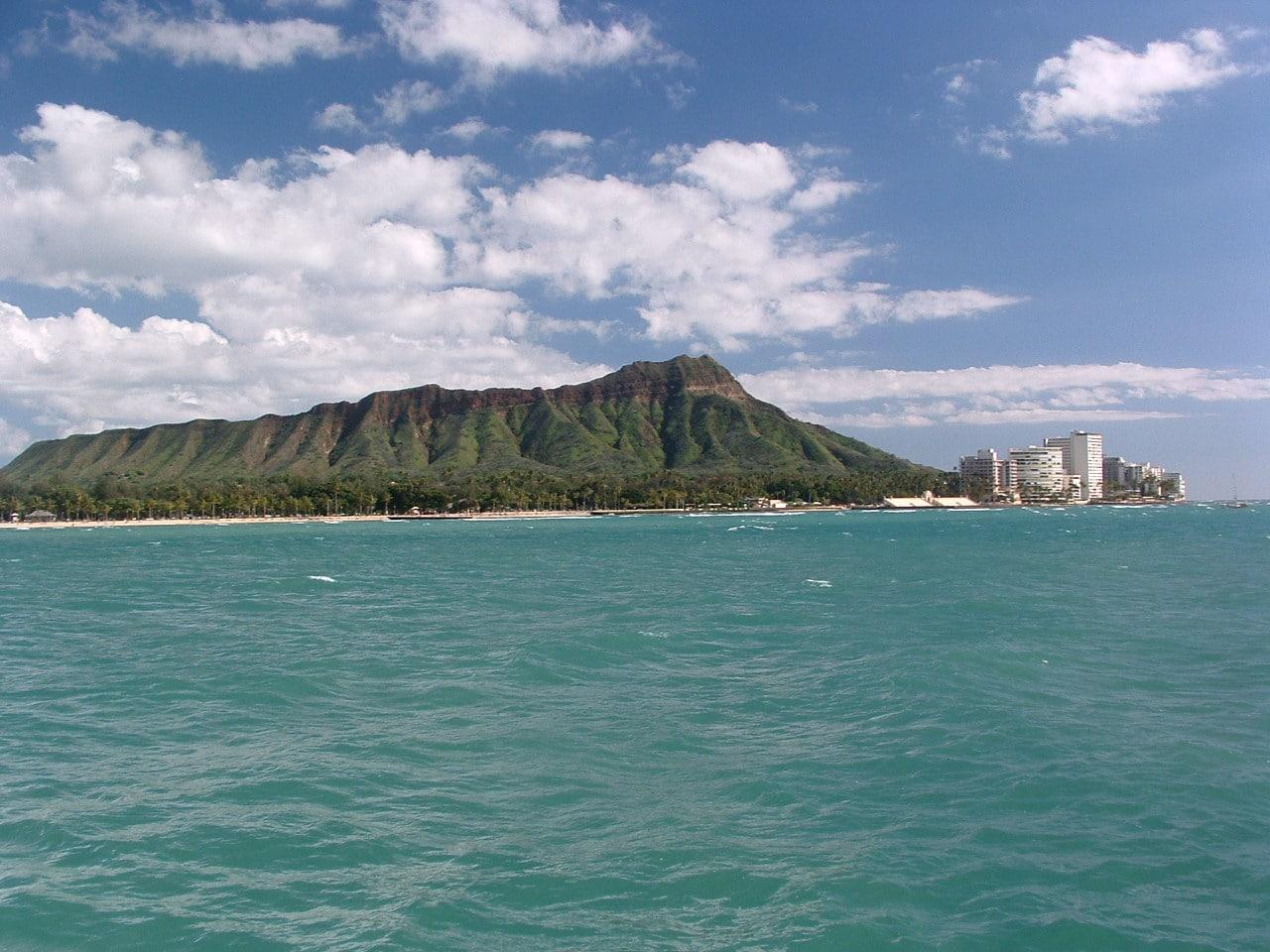 Diamond Head en Oahu