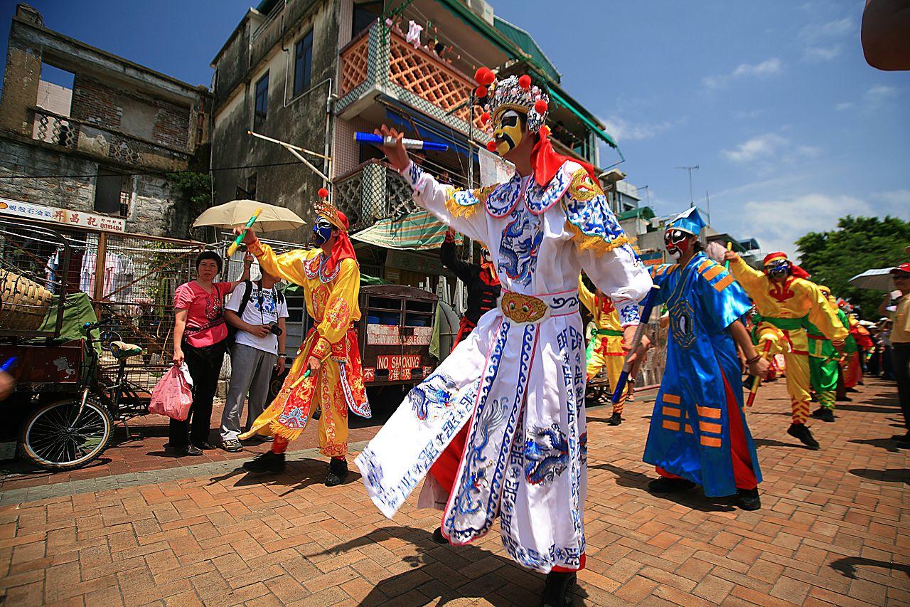 Un festival en Hong Kong