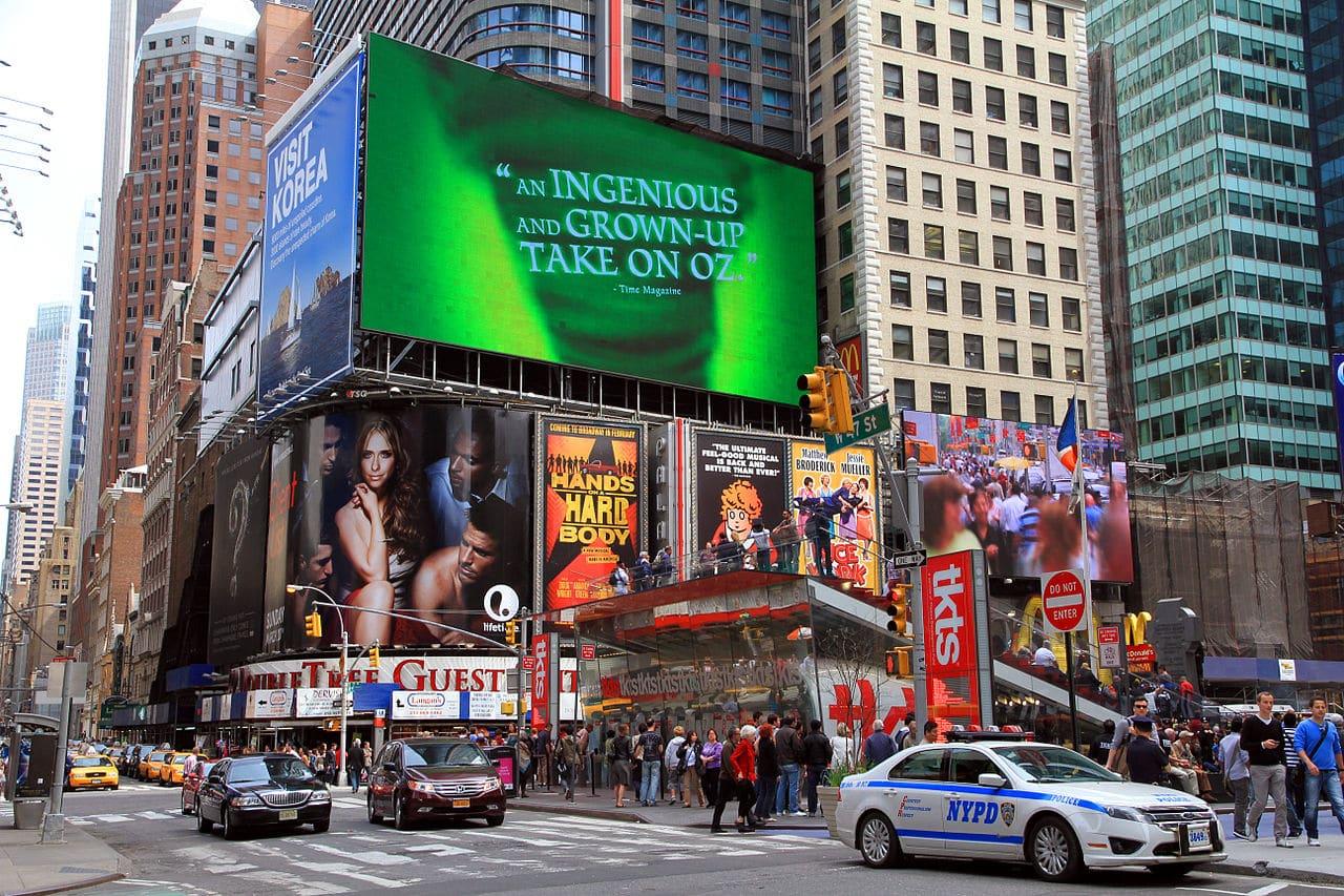 Vista de Times Square