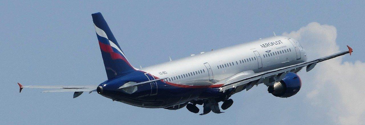 avión aeroflot