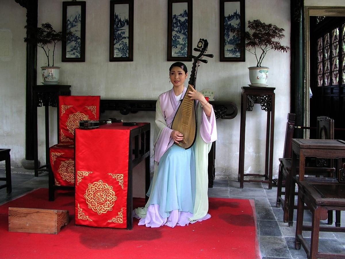 china instrumento cuerda