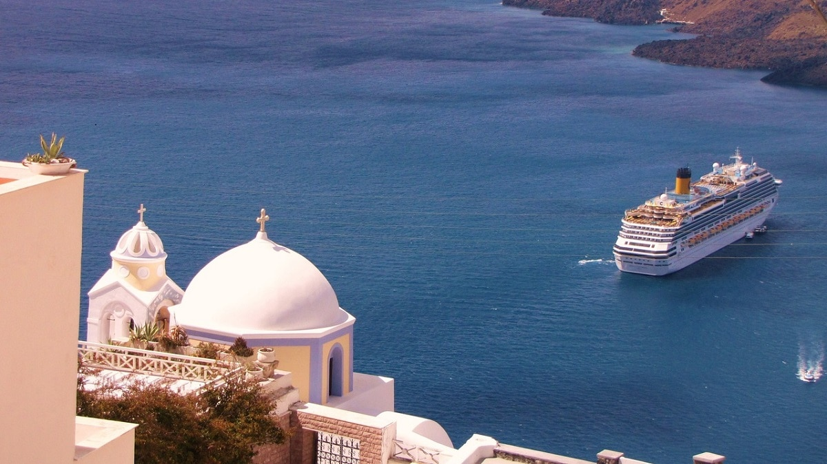 Crucero Santorini